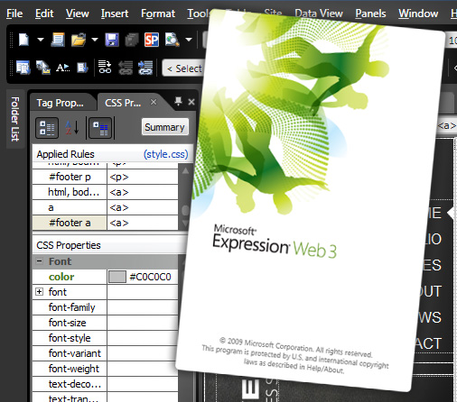 Expression Web3