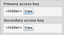 Primary Access Key
